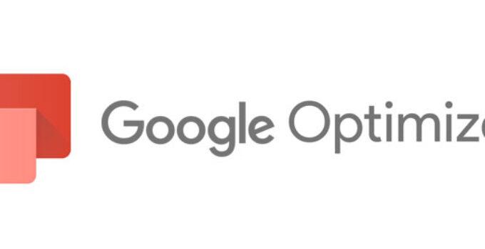 Google Optimize tests