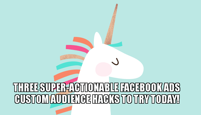 3 Strategies to Make Your Facebook Custom Audiences 3X More Effective 1