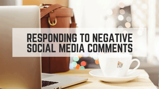 How to Response to Negative Social Media Comments