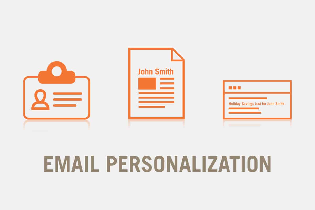 People desire email personalization