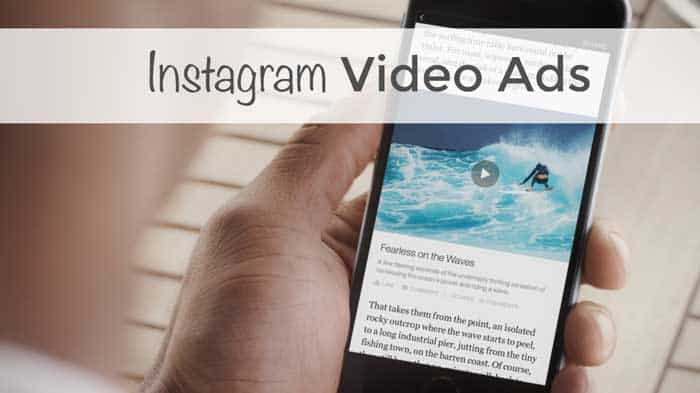 Instagram Video Ads