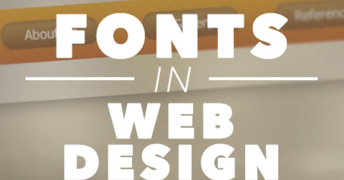 Importance of Fonts in Web Design