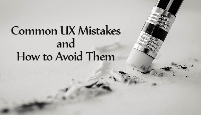 UX Mistakes